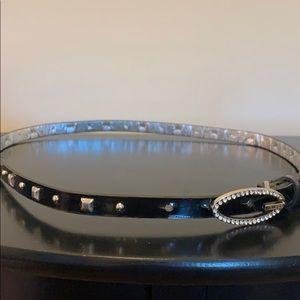 Guess Accessories - Guess Black Studded Belt